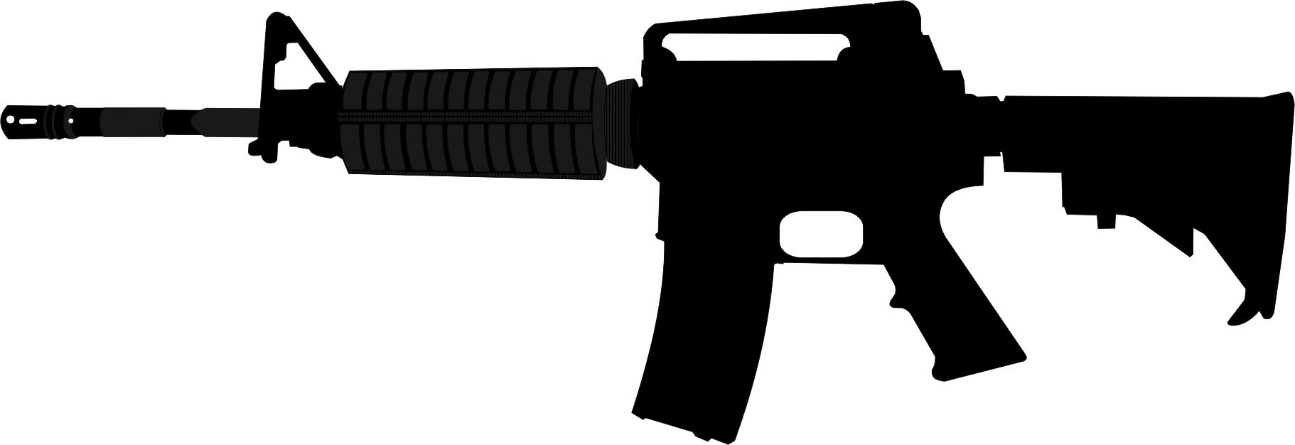 Rifle Clipart Rifle Silhouette Clipart
