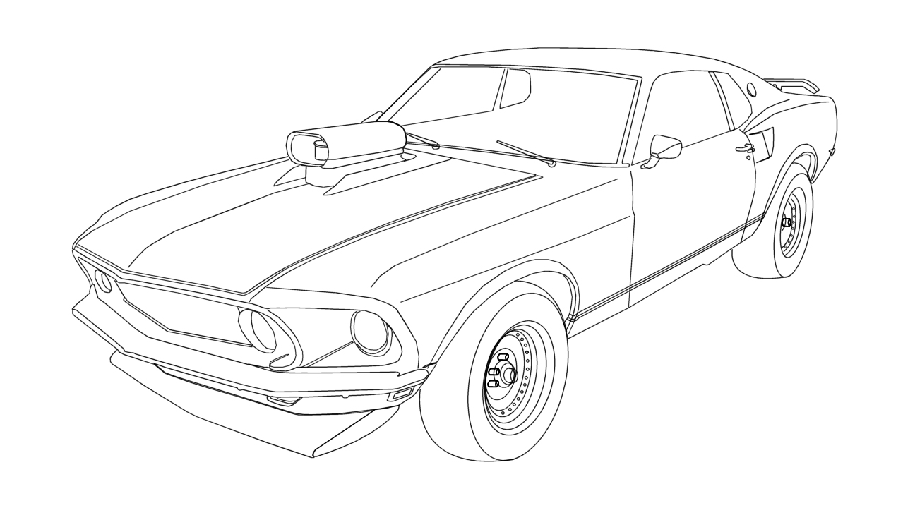free ford logo coloring pages